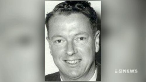 Businessman Harry Phipps owned the factory where police will dig. (9NEWS)
