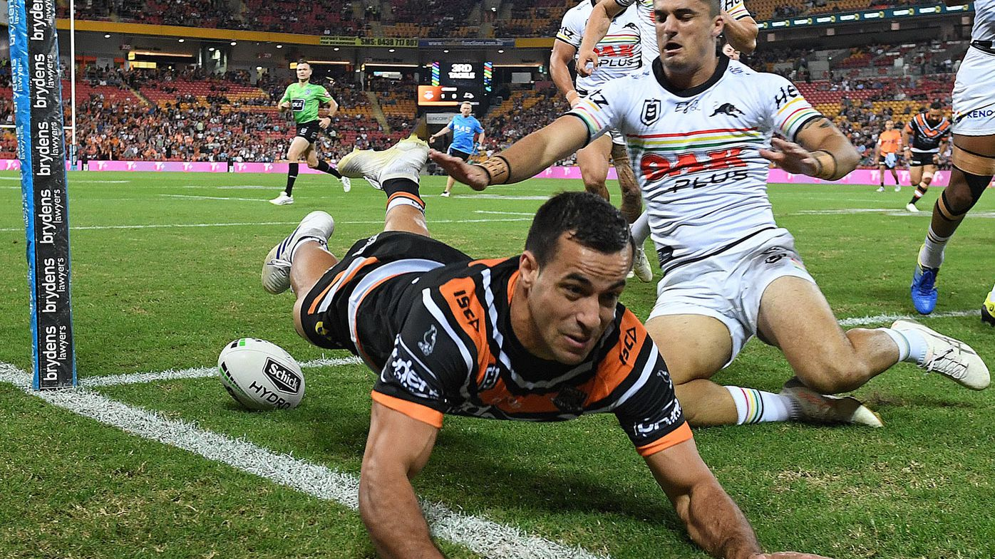 Corey Thompson announces departure from Wests Tigers