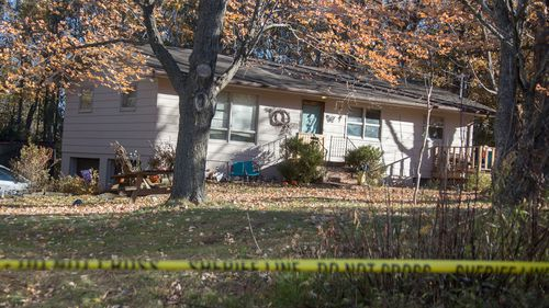 Barron County Sheriff's remained at the scene of the home where 13-year-old Jayme Closs lived with her parents James, and Denise.