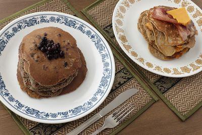 <strong>Quinoa protein pancakes</strong>