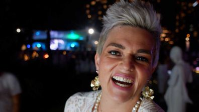 9Honey presenter Jane de Graaff joins Diner en Blanc