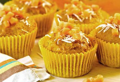 "Recipe: <a href=""/recipes/icoconut/9033276/papaya-and-coconut-muffins"" target=""_top"">Papaya and coconut muffins</a>"
