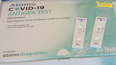 Rapid antigen tests usually take between 10 to 30 minutes for results