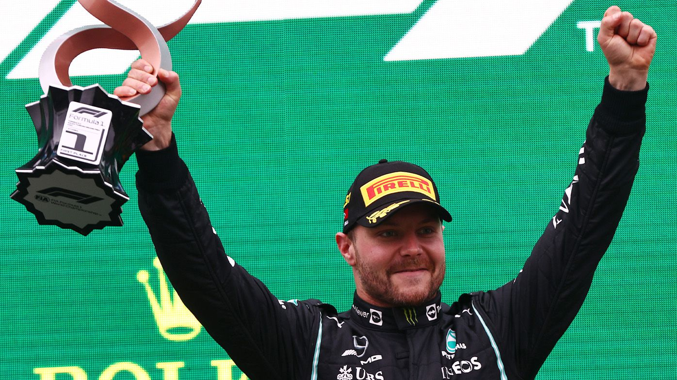 Mercedes' Valtteri Bottas wins Turkish Grand Prix as Australian Daniel Ricciardo struggles home in 13th