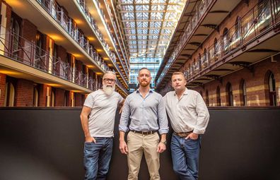 Curatif co-founders Jeremy Spencer, Matt Sanger and Sam Lane.