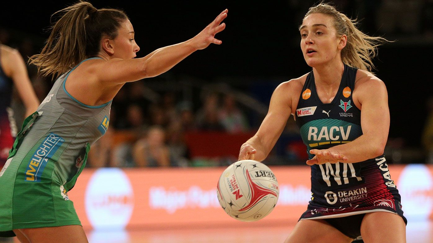 Vixens win four in a row in Super Netball