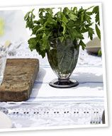 Make a simple table runner