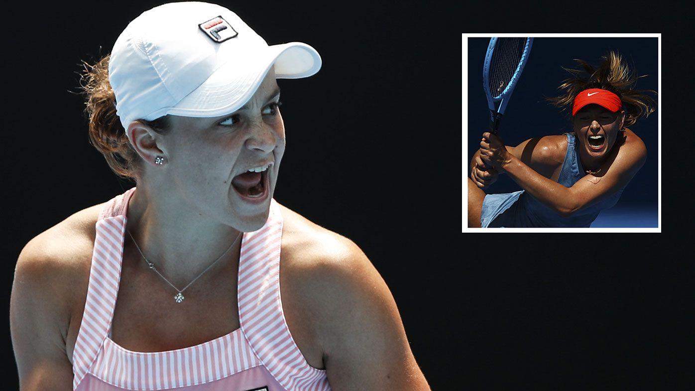 Ashleigh Barty's springboard to Grand Slam, world No.1 was Maria Sharapova win