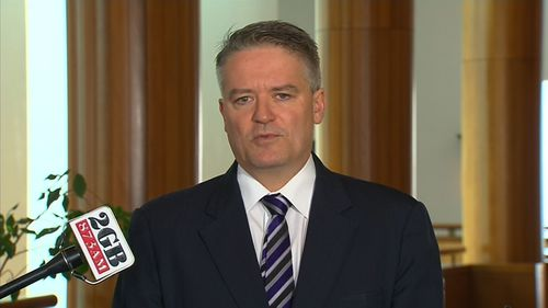 Finance Minister Mathias Cormann has admitted the government made a blunder by supporting Pauline Hanson's 'It's okay to be white' motion in the Senate.