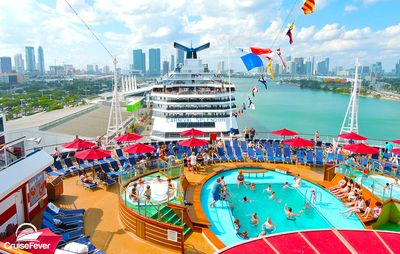<strong>Best cruise for a fun time: Carnival Cruise Line</strong>
