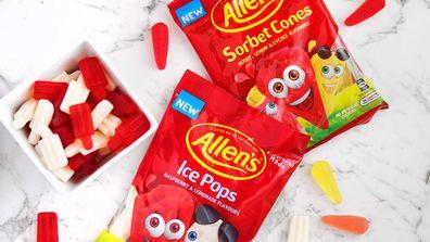 Allen's Ice Pops and Sorbet Cones