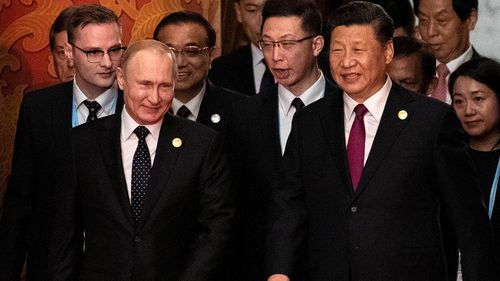 Russia's President Vladimir Putin and China's President Xi Jinping are believed to be playing a long-term coronavirus vaccine diplomacy game.