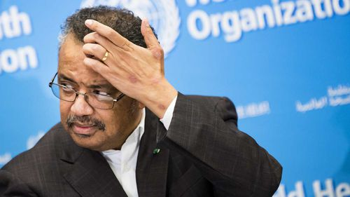 Tedros Adhanom Ghebreyesus, Director General of the World Health Organisation (WHO).