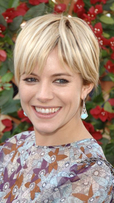 <strong>The pixie</strong><br>Sienna Miller's 2006 pixie haircut is still referenced as one of the best in the business.