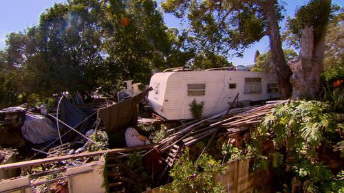 Neighbours said the property owner was charging rent on the caravans.