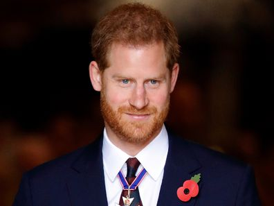 Prince Harry Remembrance Day 2018