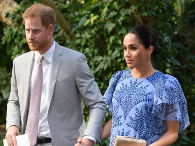 Duke and Duchess of Sussex Prince Philip funeral
