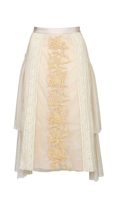 "<a href=""http://www.topshop.com/en/tsuk/product/clothing-427/skirts-449/midi-skirts-3106313/mesh-layered-embroidered-midi-skirt-4175009?refinements=category~%5b1782537%7c208530%5d&bi=1&ps=200"" target=""_blank"">Mesh Layered Embroidered Mini Skirt, approx. $108, Topshop</a>"