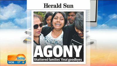Melbourne's Herald Sun. (9NEWS)