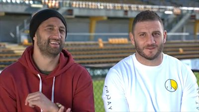 Wests Tigers stars Robbie Farah and Benji Marshall take a walk down memory lane