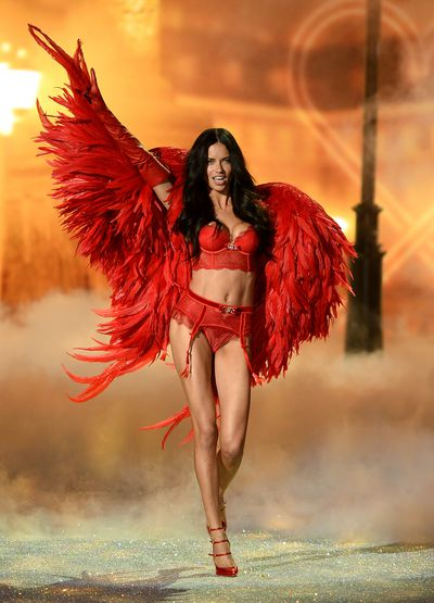 <p>4. Adriana Lima </p> <p>The Brazilian model has been an Angel with Victoria's Secret since 1999 and has spent the last 17 years crossing over into high fashion. The only year she skipped a trip down the runway was in 2009.</p>