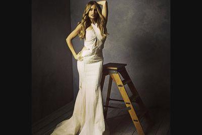 @vanityfair: @sofiavergara poses for @markseliger in the @vanityfair #oscars portrait studio. #vfoscars