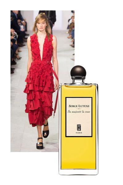 """<a href=""""http://mecca.com.au/serge-lutens/sa-majeste-la-rose/I-000336.html?cgpath=fragrance-personalfragrance#sz=36&start=73"""" target=""""_blank"""">Sa Majeste La Rose, $152 (50ml, EDP), Serge Lutens</a>"""