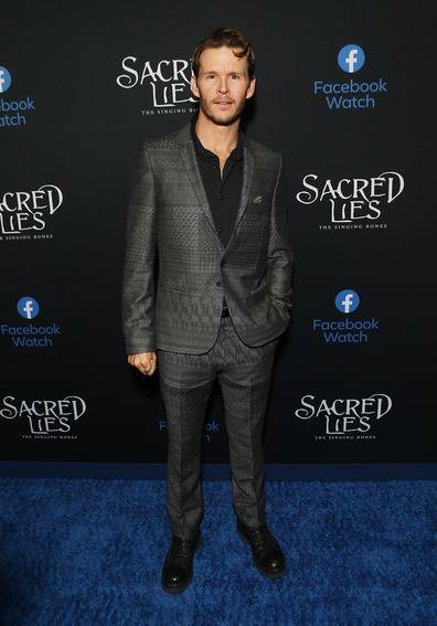 Ryan Kwanten, premiere Sacred Lies: The Singing Bones, The Hollywood Roosevelt Hotel, 2020