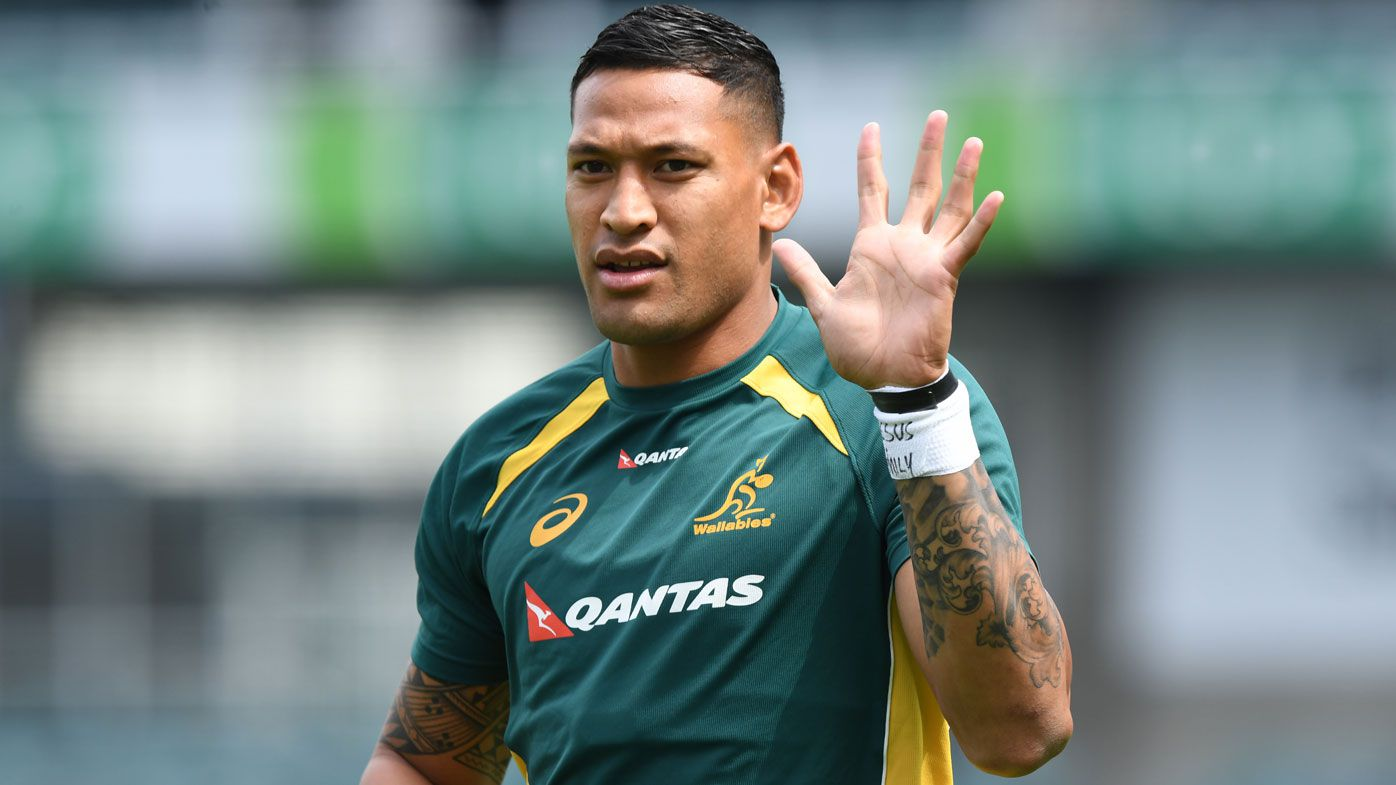 Rugby bosses to front Folau after gay post