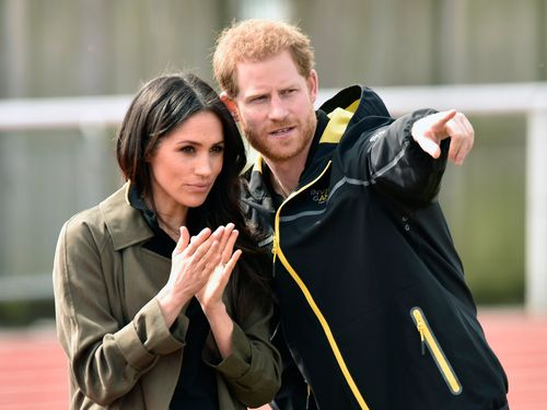 The couple is less than five weeks away from tying the knot. (AAP)