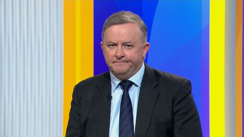 Anthony Albanese on the TODAY Show. (9NEWS)