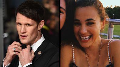 Matt Smith and Caroline Brady.