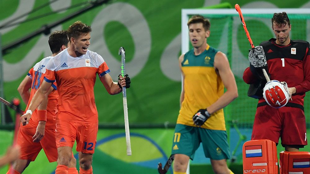 Dutch send Kookaburras packing at the Rio Olympics. (AFP)