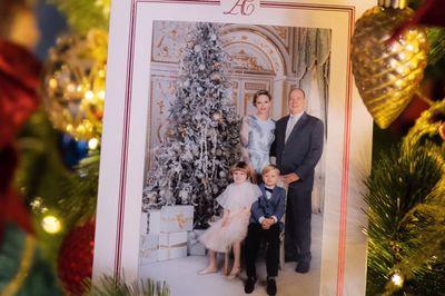 Monaco's Royal Family Christmas card