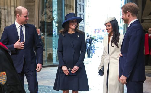 With the prince's wedding to US actress Meghan Markle just over a month away, speculation has been mounting over who would be asked. (AAP)