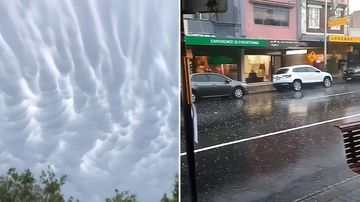 Sydney Blue Mountains hail storm