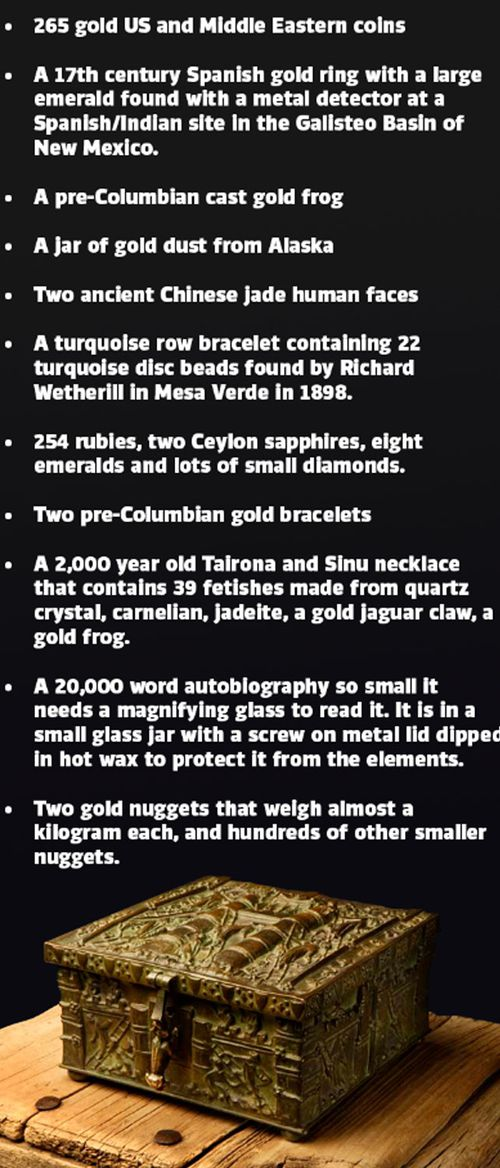 The hunt for Forrest Fenn's million-dollar treasure chest