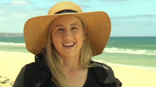 Donna Schwartz had a melanoma at just 22-years-old.