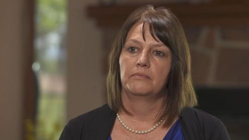 "Justin Hansen's mother Doreen Shoemaker said there's a ""zero percent"" chance her son committed the crime. Picture: ABC News US"