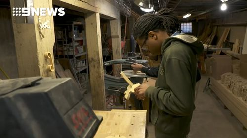 The Precious Blood Ministry is helping young men transform their lives and escape a cycle of shootings. (9NEWS)