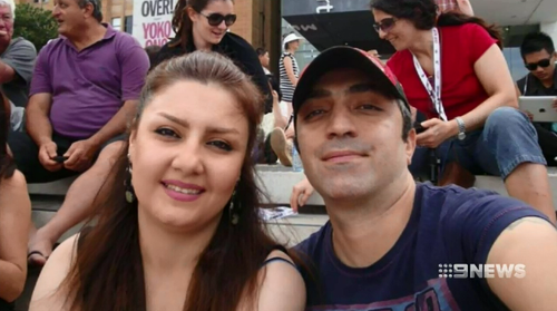 Nasrin Abek was out for lunch with a friend and when she returned home her husband stabbed her to death.
