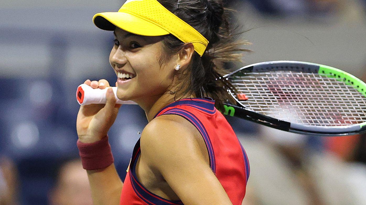 Emma Raducanu is the first qualifier to make a Grand Slam final.