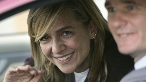 Spain's Princess Cristina to stand trial over alleged tax fraud