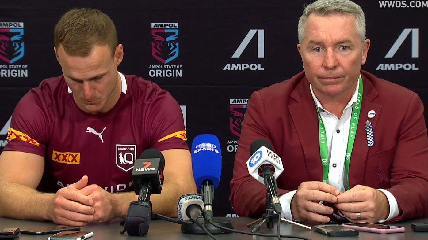 Daly Cherry-Evans and Paul Green