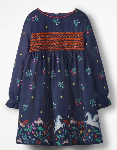 "<a href=""http://www.bodenclothing.com.au/en-au/girls-dresses/day-dresses/g0667-mul/girls-multi-flowerbed-long-sleeved-smocked-dress?cm_mmc=PLA-_-Google306198610-_-43743242799-_-40073563&_cclid=v3_de785395-6217-50f6-bc66-d5e2510b46a3&gclid=EAIaIQobChMI5Iqj_f_W3AIVgZW9Ch0BzgzpEAQYAyABEgI9QPD_BwE"" target=""_blank"" title=""Boden long sleevedsmocked dress"" draggable=""false"">Boden long sleeved smocked dress</a>, $60 <br />"