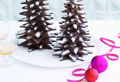 Zumbo gingerbread Christmas trees