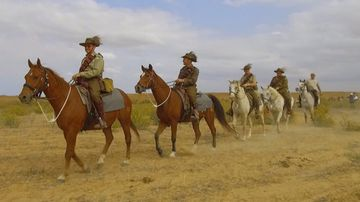 Riders begin three-day journey commemorating Light Horse heroes