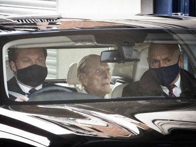 Philip leaves hospital, March