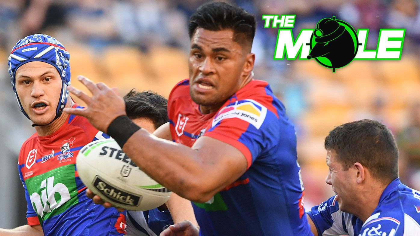 The Mole: Newcastle Knights knock-back approach for powerhouse Test prop