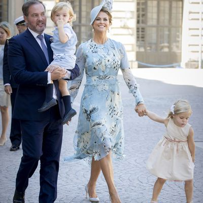 Swedish royal family children: Princess Madeleine, Princess Leonore, Prince Nicolas and Christopher O'Neill